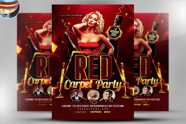 17  red carpet flyer templates
