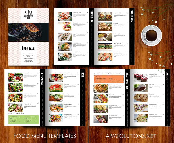 Menu Template Download from www.templateupdates.com