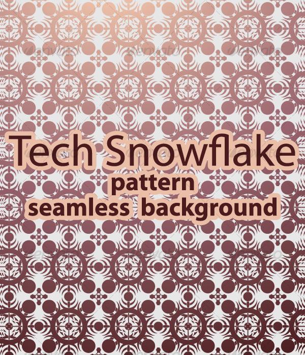 Modern Snowflake Pattern