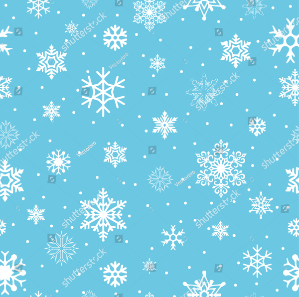 Blue Snowflake Design Pattern