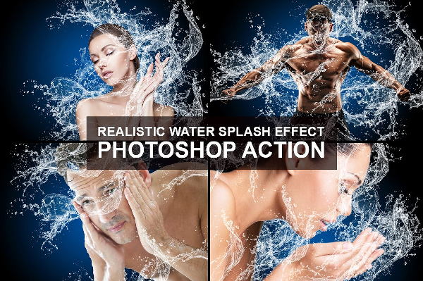 Water Splash Photoshop Actions