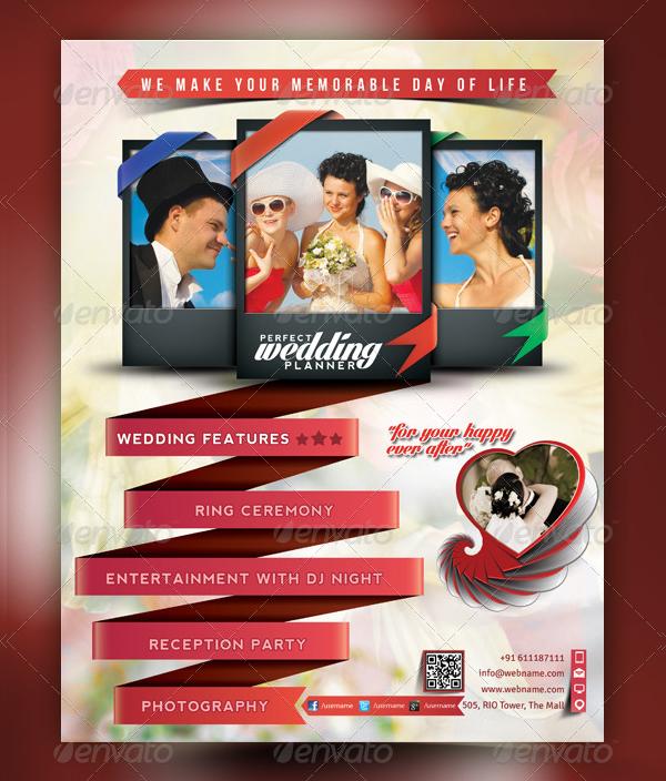 Wedding Planner Poster Template