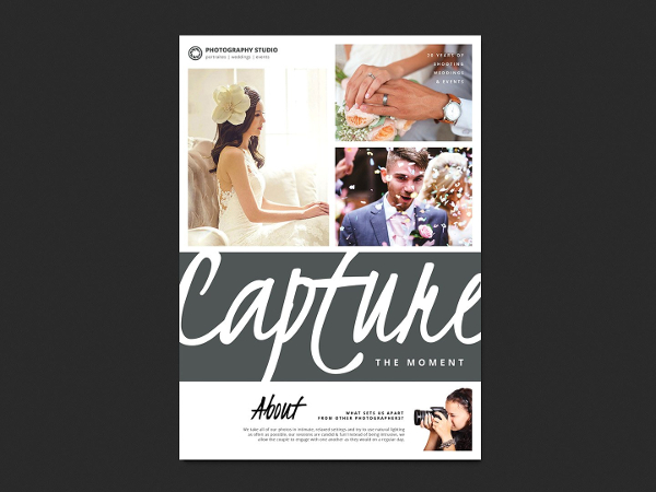 Wedding Design Poster Template