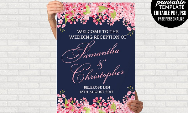 18 Wedding Poster Templates Free Premium Psd Vector Ai Downloads