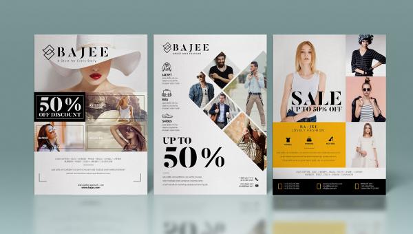23  fashion sale flyer