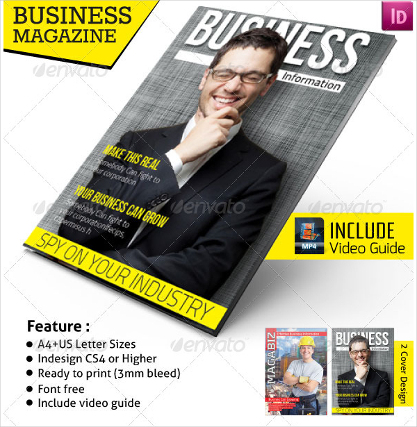 23 business magazine template free psd png vector downloads professional business magazine template accmission Image collections