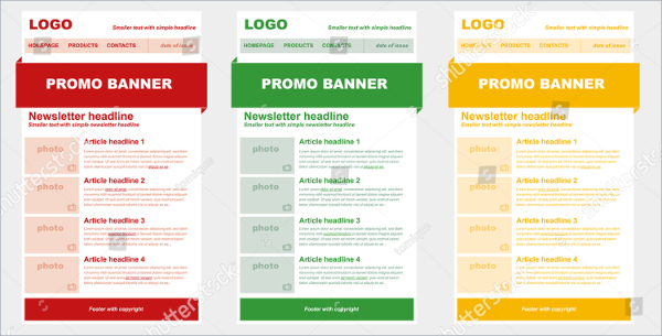 17 business newsletter templates free premium psd downloads