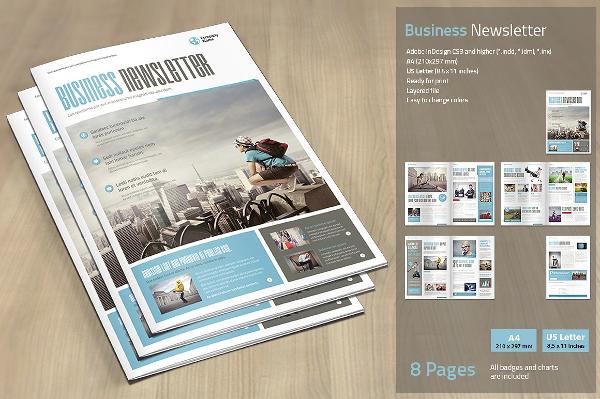 17  business newsletter templates