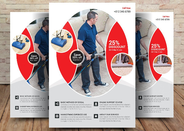 21 Cleaning Flyer Templates Free Premium Download