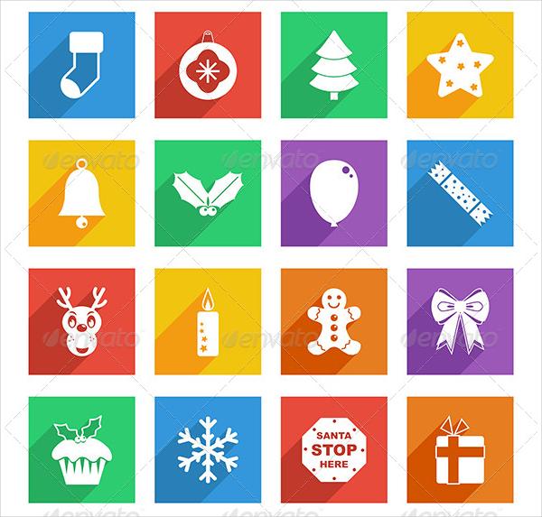 Christmas Unique Icons Set