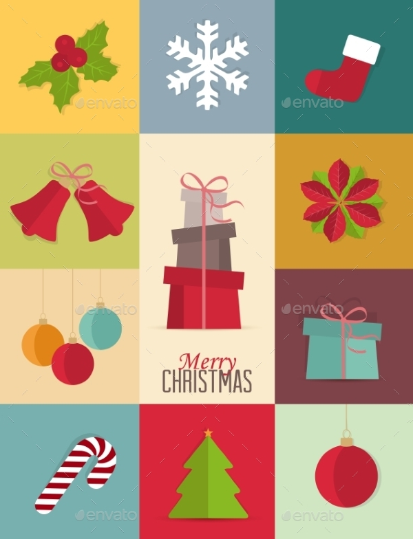 Decorative Christmas Icon Pack