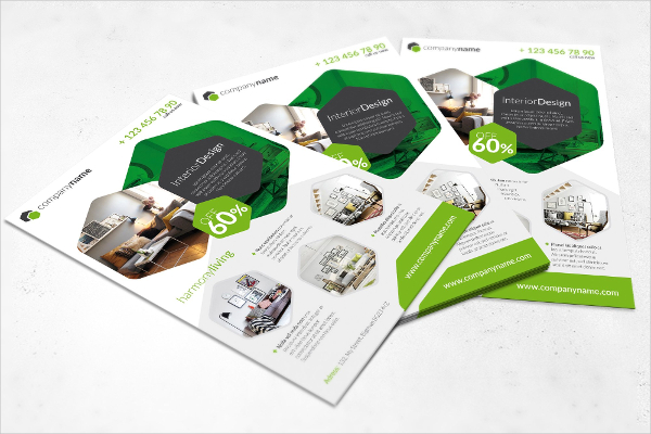 Colorful Interior Flyer Template