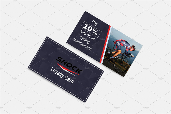Cycling Store Discount Voucher Template