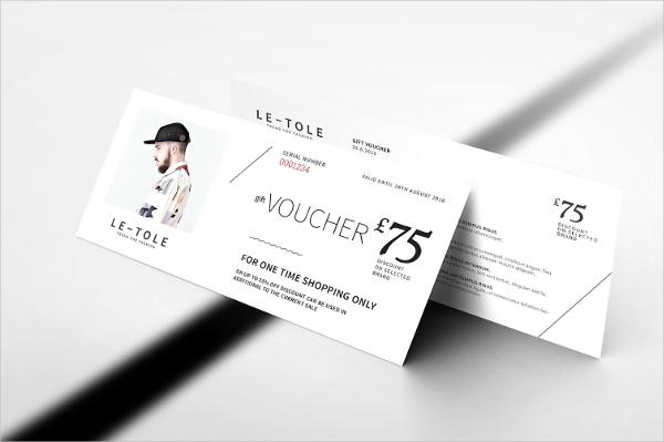 Fashion Gift Voucher Template