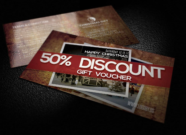 Old Discount Gift Voucher Templates
