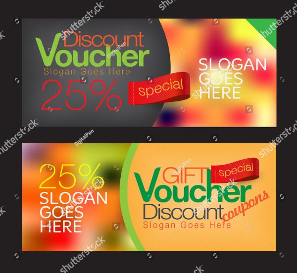 Gift Voucher And Discount Voucher Templates