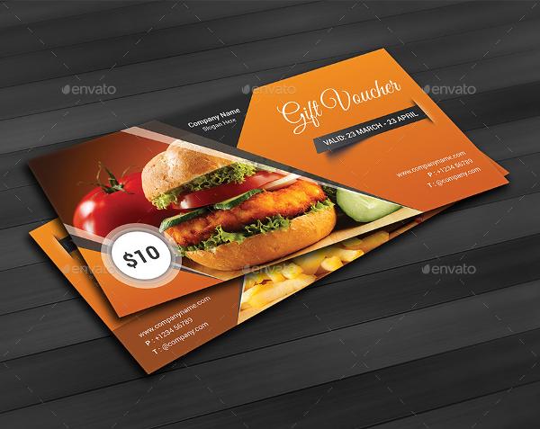 Modern Gift Voucher Card Template