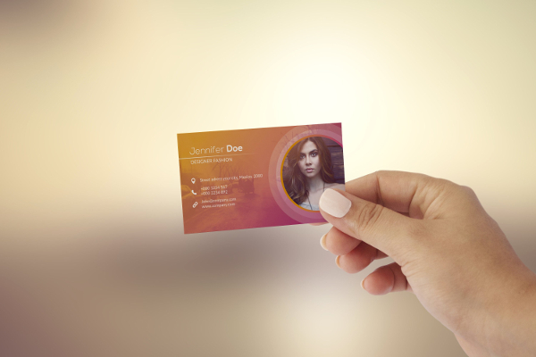 Business Card For Fashion