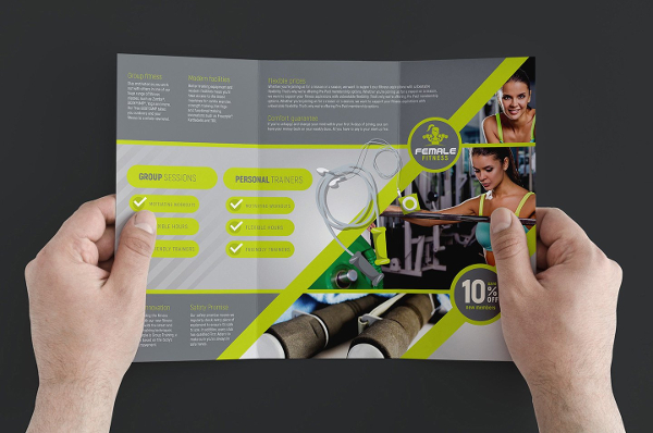 Gym Brochure Templates  Free  Premium Download