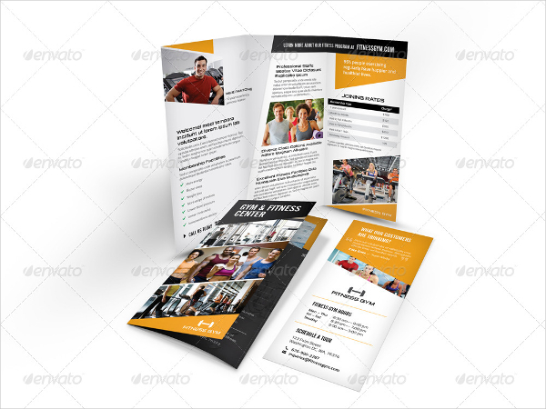 20 gym brochure templates free premium download for Gym brochure template