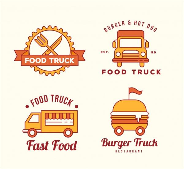 Free Truck Burger Logos