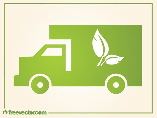 Free Truck Design Logo Template