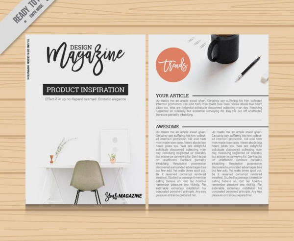 Business Magazine Template - 23+ Free & Premium Download