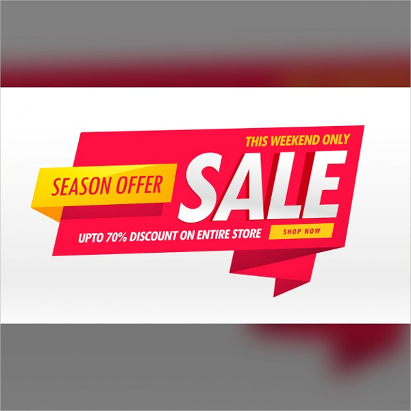 Free Red And White Discount Voucher Template