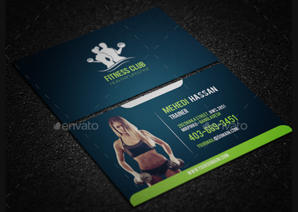22 gym business cards free premium psd eps illustrator downloads gym club business card template cheaphphosting Image collections