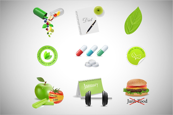 Collection of High QualityHealth and Fitness Icons