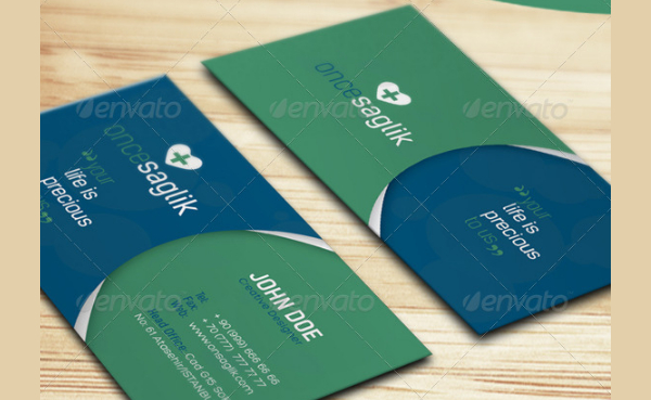 Best Healthcare Business Card Template