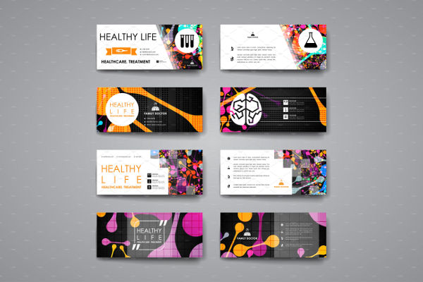 Healthcare Business Cards Collections