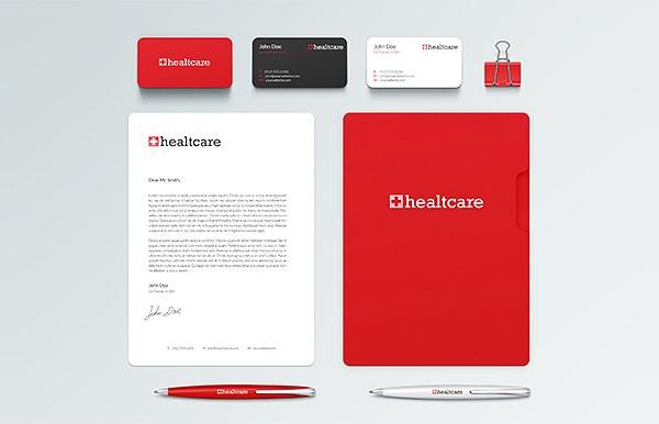 Healthcare Mini Brand Identity