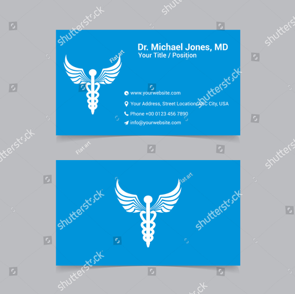 Healthcare Vector Business Card Template