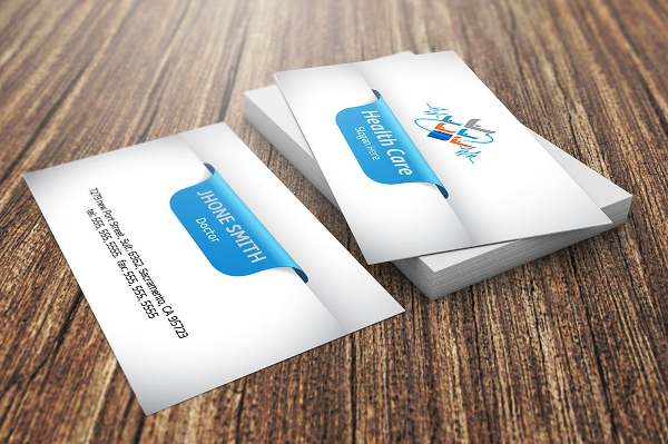 Health Care Visiting Card Template