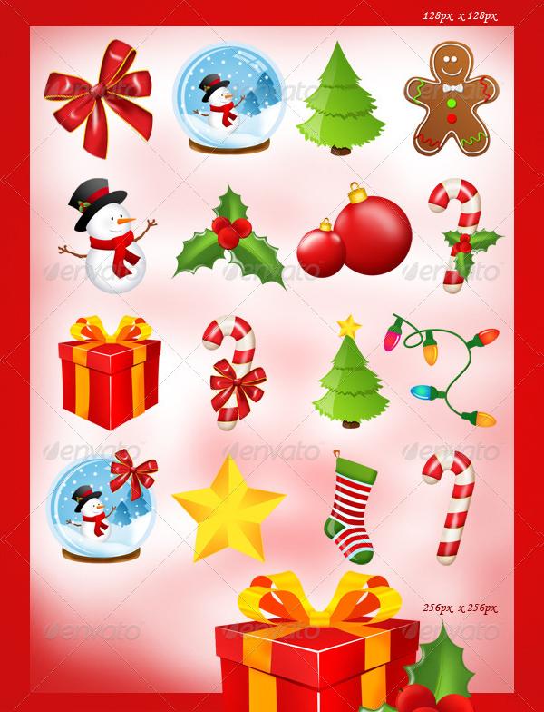 16 Christmas Design Icons
