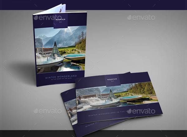 Resort Brochure Templates Free Premium Download - Hotel brochure template