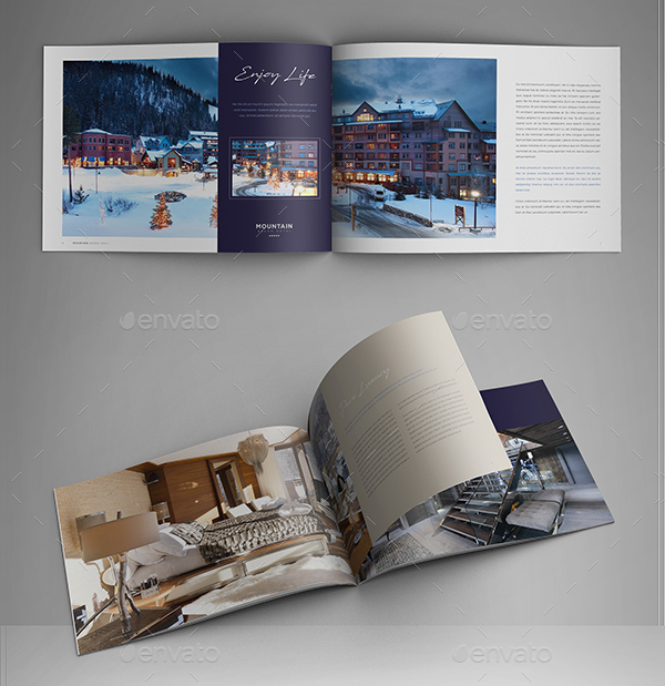 Resort Brochure Templates  Free  Premium Download