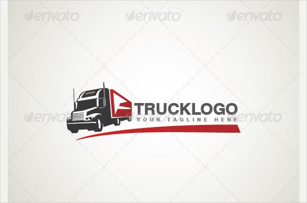 Professional Truck Transport Logo Template