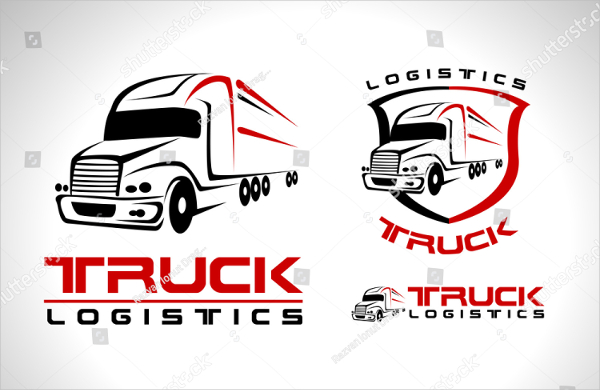 Truck Vector Design Logo Templates