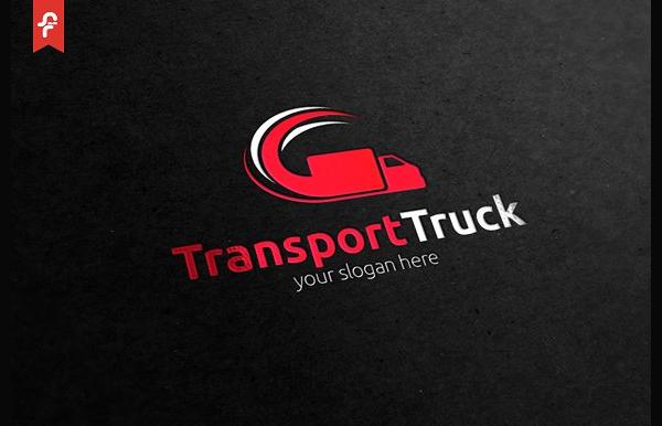 Truck Carriage Design Logo