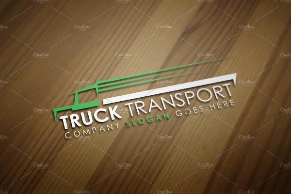 Best Truck Transport Logo Template
