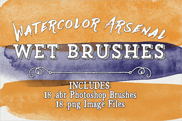 Watercolor Arsenal Wet Brushes