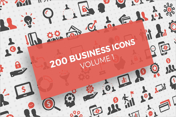 200 Marketing Business Icons