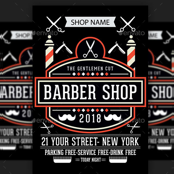 Barber Shop Poster Design