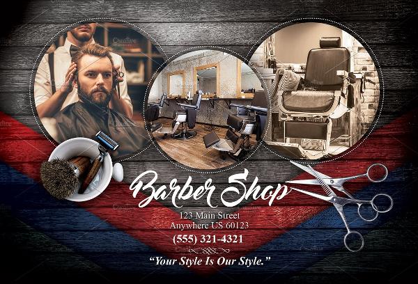 18  barber shop flyer templates