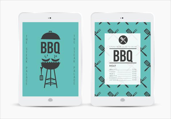Free BBQ Menu Design Templates