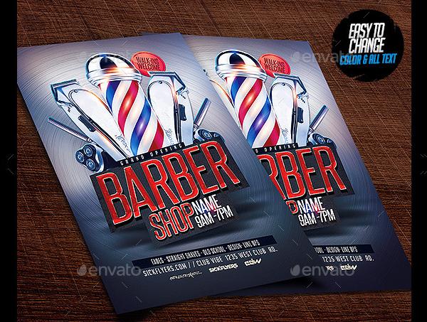 Popular Barbershop Flyer Template