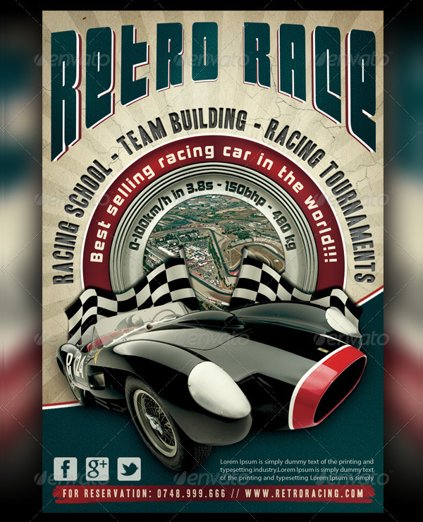Car Show Flyer Free Premium PSD AI Vector EPS Downloads - Classic car show poster template