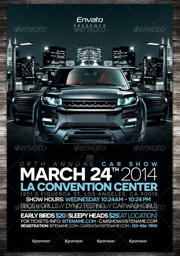 19  car show flyer